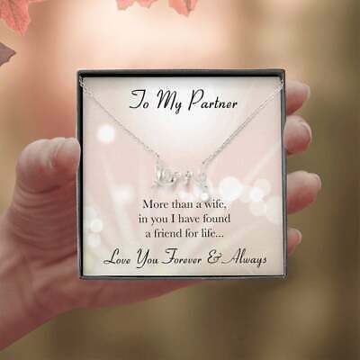 To My Partner Gift For My Wife Wife Mothers Day Gift Anniversary Special Gift