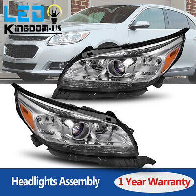 for 2013 2014 2015 Chevy Malibu Projector Headlights Assembly Headlamps 13-15 US