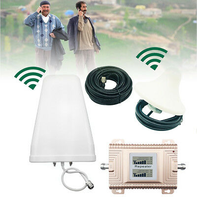 CDMA PCS 8501900MHz Dual Band Cell Phone Signal Booster Amplifier 2 3 4G LTE