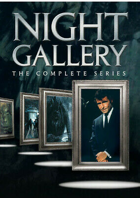 Night Gallery The Complete Series DVD10-Disc New - Sealed USPS Free Shipping