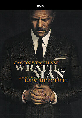 WRATH OF MAN DVD 2021 ACTION