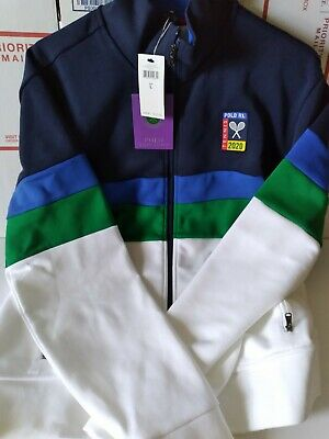 Polo Ralph Lauren Wimbledon 2020 Zip-up Jacket BRAND NEW WITH TAGS- MENS SIZE L