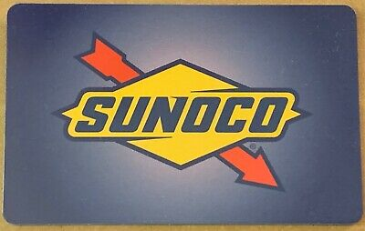 SUNOCO GIFT CARD 100 UNUSED UNSCRATCHED FREE SHIPPING
