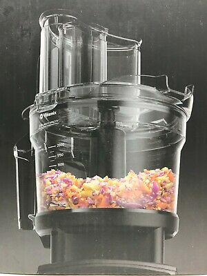Vitamix 12-Cup Food Processor With Self-Detect - New Open Box