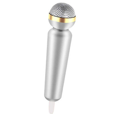 Microphone 3.5mm Smartphone Microphone Plug and Play for Chatting Sing Karaoke