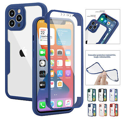 360° Full Body Case For iPhone 12 Pro Max 11 XS XR 8 7 Plus SE Screen Protector