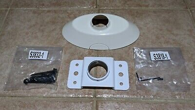 Strong SM-PROJ-L-WH Universal Projector Mount Extension Ceiling Plate Kit