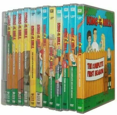 King of the Hill The Complete Series DVD 37-Disc S et  Season 1-13 Brand NEW US