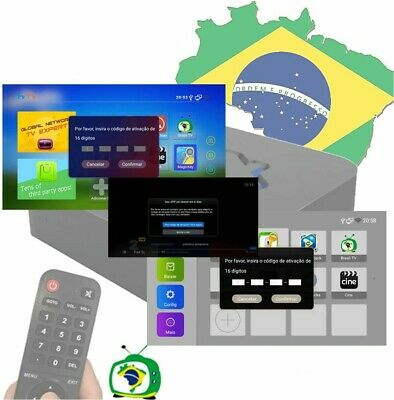 Brasil TV Renew 16 Digit Activation code for A1 A2 A3 HTV3 HTV5 HTV6 6- HTV7