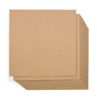 12-25x12-25 Corrugated Cardboard Sheets Inserts for Packing Mailing Set of 50