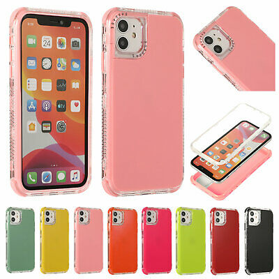 Shockproof Bumper Case For iPhone 12 Pro Max 11 XS XR 8 7 Plus SE2 Hybrid Cover