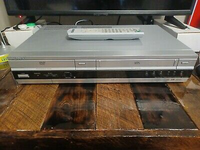 Sony SLV-D100 DVD VCR Combo Player Hi-Fi Stereo VHS Recorder Tested Remote WORKS
