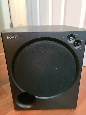 Sony SA-WM200 Magnetically Shielded Active Powered 8 Subwoofer