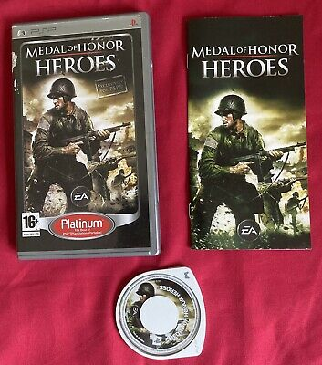 Medal of Honor: Heroes (Sony PSP, 2006) - European Version Very Good Condition
