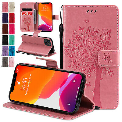 Magnetic Leather Wallet Case Flip Cover For iPhone 13 12 Pro Max 11 XS XR 876 SE