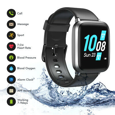 Koogeek Blood Oxygen Smart Watch Fitness Tracker Heart Rate for iphone android