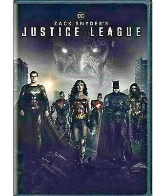 Justice League DC- Zack Snyders Extended Edition DVD 2021 Choose Your Ship