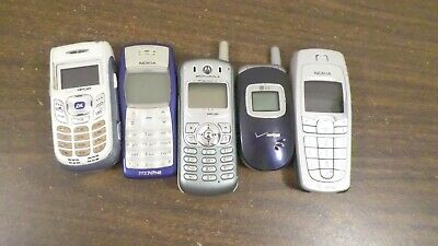 Lot of Vintage Cell Phone for partsrepair