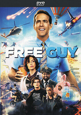 FREE GUY DVD 2021 Comedy  Action  Adventure