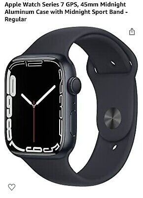 Apple Watch Series 7- GPS Model Midnight Aluminum Case 45mmReady to be shipped