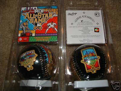 MLB 2006 ALL STAR GAME PITTSBURGH COLLECTIBLE BASEBALL GOLD NEW