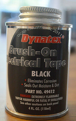 Brush-On Electrical Tape Dynatex 49412 Weatherproof Free Shipping Made in USA