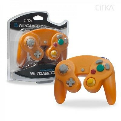 Brand New Controller for Nintendo GameCube or Wii - ORANGE SPICE