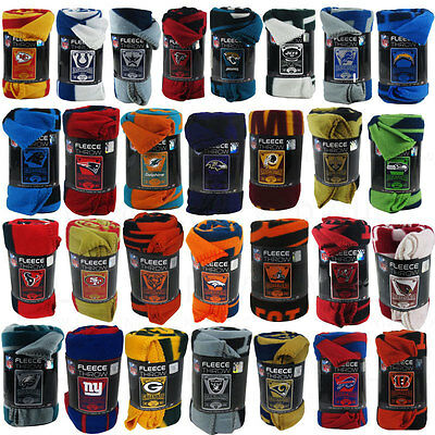 New Northwest NFL Teams New Logo Large Soft Fleece Throw Blanket 50 X 60