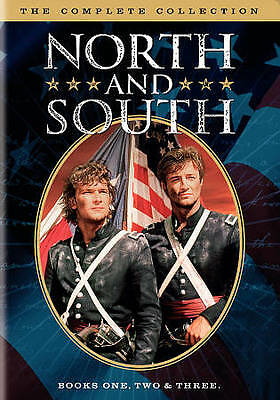 North and South  Complete Collection  Books 1 2 - 3  NEW 5-DISC DVD SET