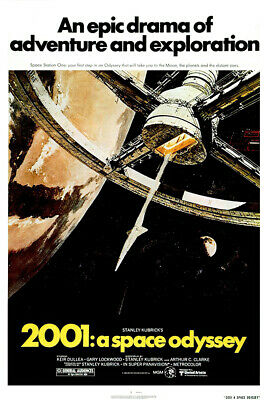 2001 A Space Odyssey - Movie Poster  Print Regular Style Size 27 X 40