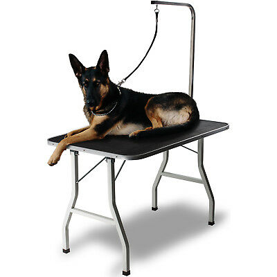 36 Large Pet Grooming Foldable Table Dog Cat Adjustable ARM Noose Groom