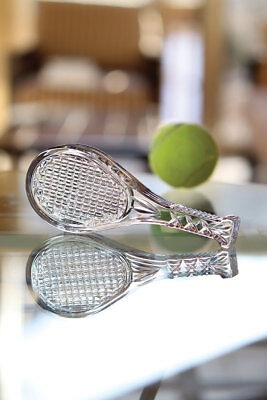 Waterford Crystal Wimbledon Tennis Racket Paperweight Figurine GIFT