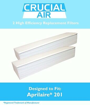 2 Replacement 2250 - 2200 Air Purifiers Aprilaire Part  201