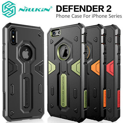 For Apple iPhone XSX87 Plus 6s Tough Shockproof Armor Hybrid Protective Case