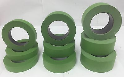 1-48 Rolls 1 1-5 or 2 Frog Green Colored Painters Masking Tape Case Blem 2nd
