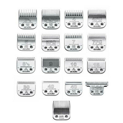 Andis UltraEdge Detachable Animal Grooming Clipper Blades All Sizes in stock