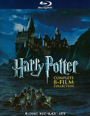 Harry Potter Complete 8-Film Collection Blu-ray Disc 2011 8-Disc Set NEW
