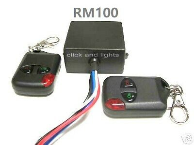 MSD 12V 15A 315mhz on off 2 remote control key fob 12V output relay switch RM100