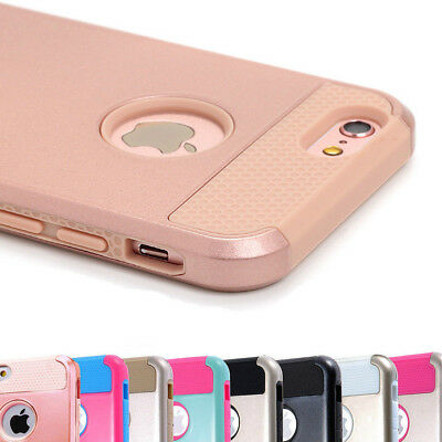 Shockproof Hybrid Armor Rugged Protective Cover Case For Apple iPhone 5 6 7 Plus