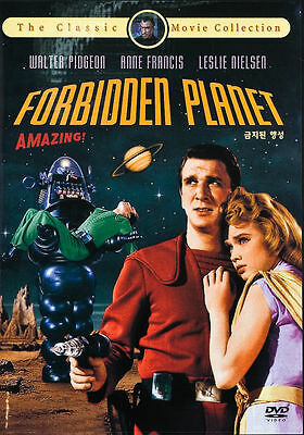 Forbidden Planet 1956 New Sealed DVD Fred M- Wilcox