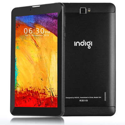 UNLOCKED 7-0 GSM Android 9-0 4G SmartPhone Tablet PC Google Certified Black