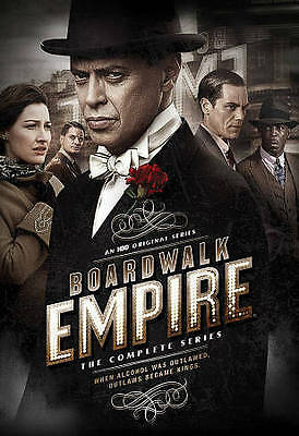 Boardwalk Empire The Complete Series DVD seasons 12345 Box Set New Sealed