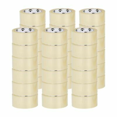 36 ROLLS Clear Packing Tape - 2 INCH x 100 Yards 300 ft Carton Sealing Package