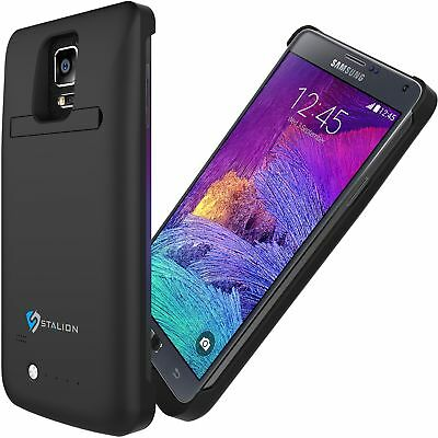 Stalion® Stamina 4800mAh Rechargeable Battery Case for Samsung Galaxy Note 4