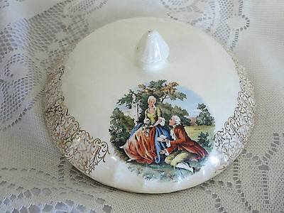 WS George Lid only for Round Vegetable Dish 7 12 Diameter