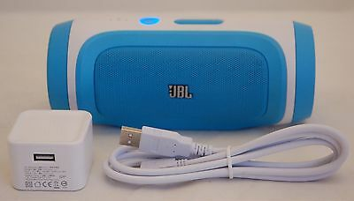JBL Charge BLUE Stereo Wireless Bluetooth Portable Fun Speaker iPhone 7-76S C