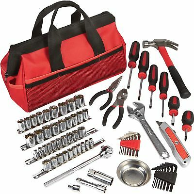 Ironton Tool Bag Set 70-Pc- 14in- and 38in- Drive
