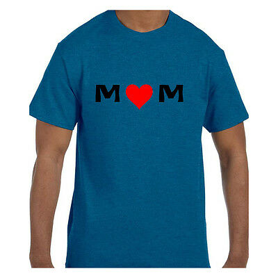 Tshirt Mothers Day MOM - Red Heart Love