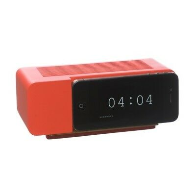 NEW Areaware Alarm Dock for Apple iPhone 3G 3GS 4 4s - iPod RED Jonas Damon