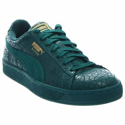 Puma Suede Crackle Green - Mens  - Size